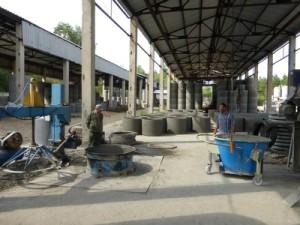 Крышка для колодца, производство колодезных колец